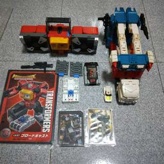 Transformers Leader Class Lot