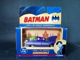 Corgi Batman 1950's DC Comics Jokermobile Diecast The Joker Not Hot Wheels #50under