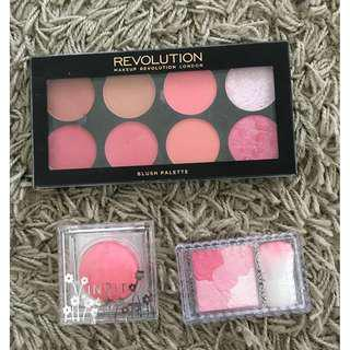 BLUSHER ALL 3 ITEMS RM25 FREE POSTAGE
