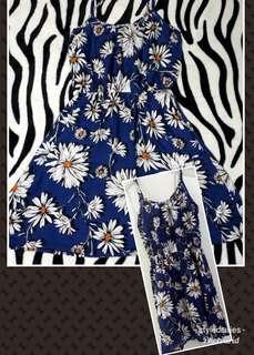 New Floral Mini Dress