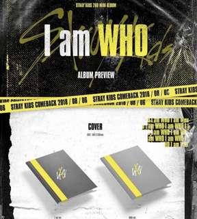 STRAY KIDS- I AM WHO