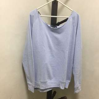 F21 Pastel Purple Sweater