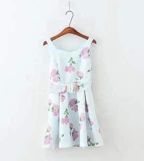 🚚 日系田園風洋裝連衣裙全新