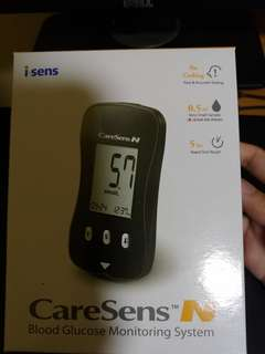 i-Sens Caresens N Blood Glucose Meter