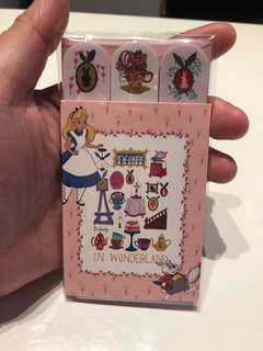 Afternoon Tea Alice In The Wonderland Sticker Notepad