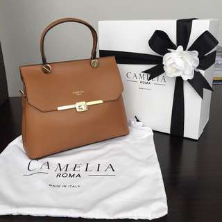 Camelia Roma 歐洲代購 leather handbag crossbody