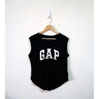 🚚 GAP logo系列無袖上衣