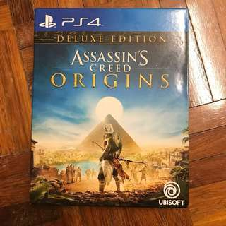 PS4 Assassin's Creed Origins Deluxe Edition