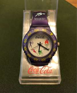 Coca Cola Atlantic Olympic 1996 watch