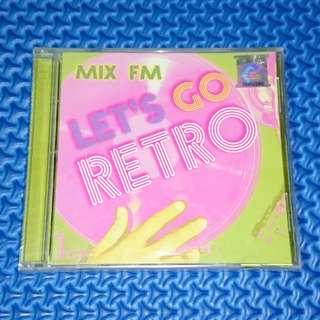 🆕 VA - MIX FM: Let's Go Retro 2CD [2005] Audio CD
