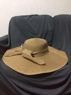 🚚 BNWT straw beach hat