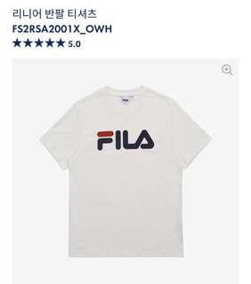 韓國🇰🇷代購 Fila Tee