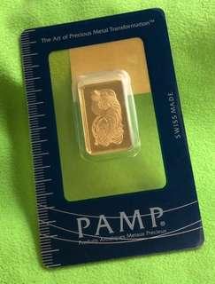 PAMP - ->> 10g Pure Gold Bar (999) ❤️