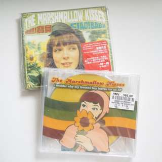 The Marshmallow Kisses CD 兩隻Set I wonder why my favorite boy leaves me an EP / Ciao! Baby