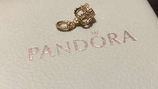 🔹Sale🔹BN Pandora RoseGold Dangling Crown