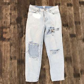 Vintage Calvin Klein Ripped Jeans