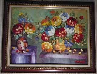 Lukisan Cantik 95 cm x 75 cm