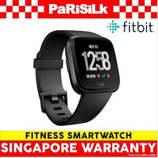 Fitbit Versa Fitness Smartwatch - Singapore Warranty