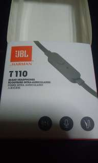 JBL T110 wired earphones
