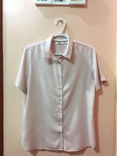UNIQLO Rayon Short sleeve blouse
