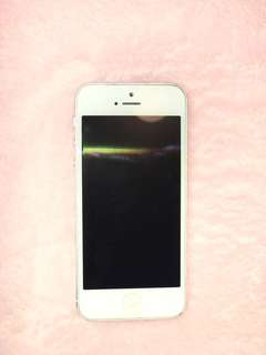 iPhone 5 32GB Silver/White