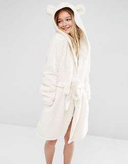 Asos Teddy bathrobe