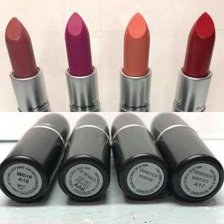 U.S. Authentic MAC Lipstick