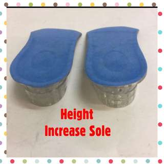 < ZHOELUX > Height Increase InSole Rubber InSole