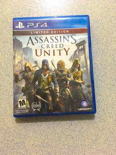 PS4 Assassin's Creed Unity Limited Edition