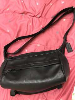 Coach cross body bag / messenger sling bag
