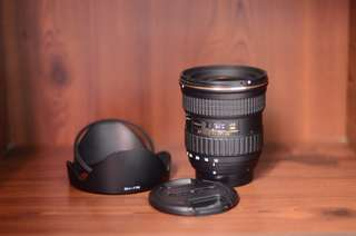 Tokina 12-28mm F4 AT-X Pro wide angle lens