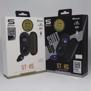 [🇭🇰行貨] SOUL - STXS 高性能真無線藍牙耳機