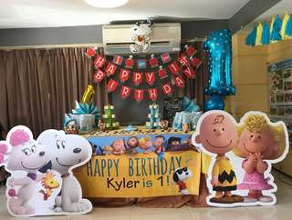 🚚 snoopy party for rental