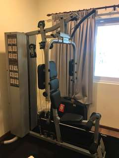 Multi purpose gym equipment (as good as New)