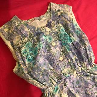 🚚 Mola/古裝花襯衫