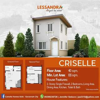 Affordable house and lot in Camella LESSANDRA Iloilo - CRISELLE