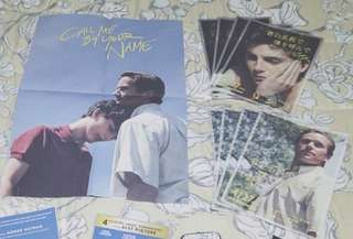 Call Me By Your Name Japanese Pamphlet Poster