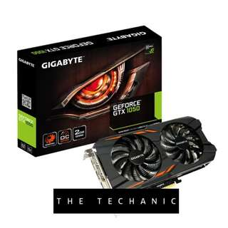 GIGABYTE GEFORCE GTX 1050 WINDFORCE OC 2G GRAPHICS CARD