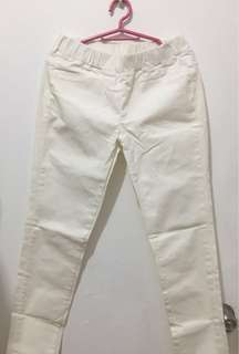 Off-White Soft Pants (size 29-30)