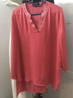 Nichii Plus size Blouse/Top/Shirt #July70