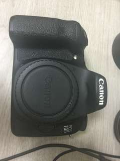 🚚 Canon 70d body good shutter count 10k