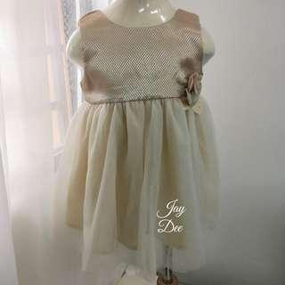 ❤️Baby Tutu Dress (Golden Champagne)❤️