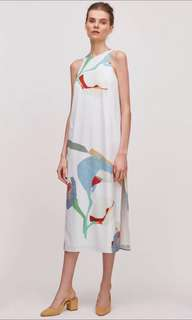 🚚 Our second nature osn archive midi dress S