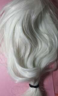 Zen mystic messenger Cosplay white wig