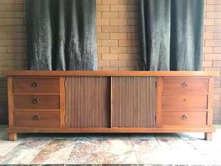 Hard Teak Wood TV Cabinet