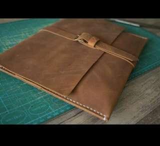 Macbook Case Sleeve Leather Laptop Air Bag