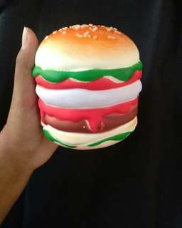 Squishy burger bekas