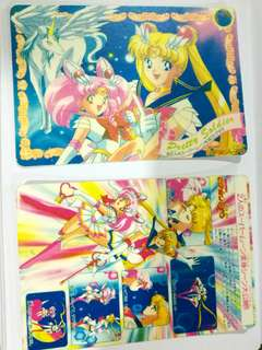 Sailormoon cards (no sticker) #July100