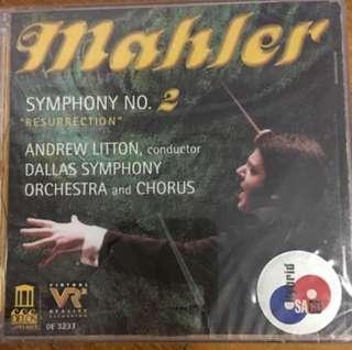 "( SACD ) Gustav Mahler - Symphony No. 2 ""Resurrection"" ( CD )"