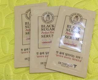 SkinFood Black Sugat Perfect First Serum - Essential -2ml